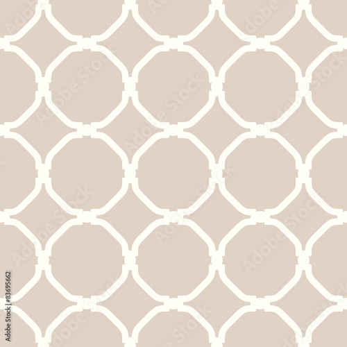 Geometric Seamless Vector Pattern - 83695662