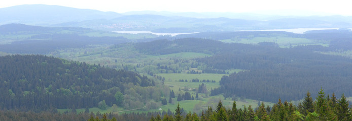 Moldaublick Panorama