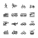 Fototapety transportation and vehicles icon set 6, vector eps 10