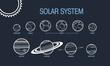 Solar System Planet Set  - 83705051