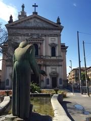 Milano, chiesa di San Aantonio da Padova - Porta Garibaldi