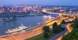 Fototapety Panoramic view of Szczecin.