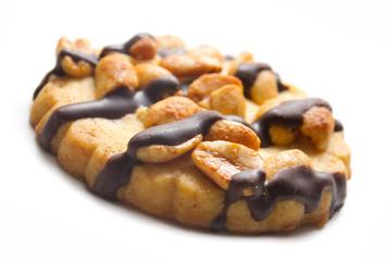 Biscotto alle arachidi e cioccolato