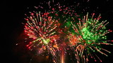 Amazingly Colorful Spectacular Fireworks Display Seamless Loop