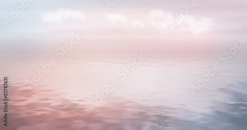 Sea Ocean Vector Background