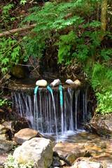 安曇野 満願寺の湧水