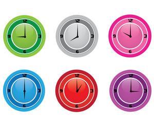 clock colour