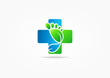 Постер, плакат: cross medic foot symbol vector Podiatry concept design