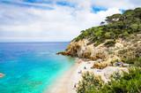 Elba island panoramic view of Sansone beach, Tuscany,Italy. - Fine Art prints