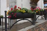 vaso di fiori arredamento urbano