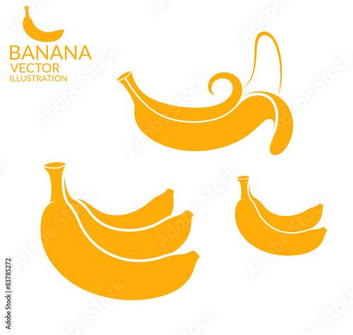 Banana. Set - 83785272