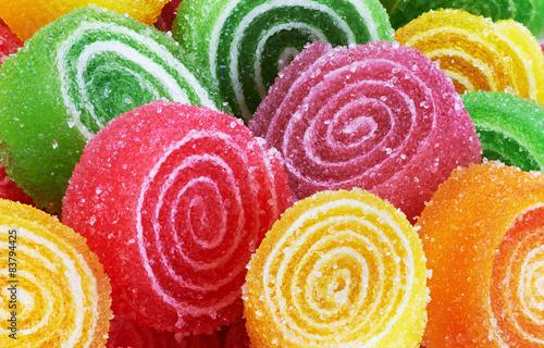 Fototapeta Sweet colorful candy