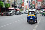 Tuk-Tuk Vehicle urban Bangkok Thailand