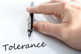 Tolerance Concept poster
