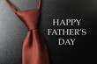 Happy Father's Day - tie and well wishes