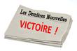 Постер, плакат: Journal de la victoire