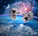 Fototapeta Astronaut Spaceman Planet Moon