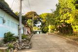 Street in Moyogalpa on Ometepe Island in Nicaragua - 83856852