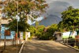 Street in Moyogalpa on Ometepe Island in Nicaragua - 83856877