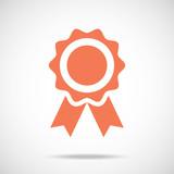 Award pictograph. Medal icon concept. Creative vector icon. poster