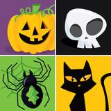 Halloween Popart poster