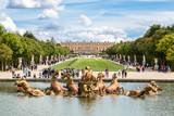Fototapety Fountain of Apollo in garden of Versailles Palace