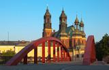 Katedra w Poznaniu i most Św. Jordana - 83895636