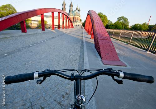 Rowerem przez Poznań