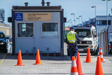 Fototapety Harbour border control