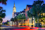 Charleston Townscape poster