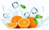 Oranges with water splash © Lukas Gojda