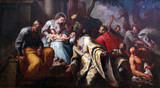 Nativity Scene, Adoration of the Magi, Church of the Birth of the Virgin Mary, Prcanj, Montenegro - 83950059