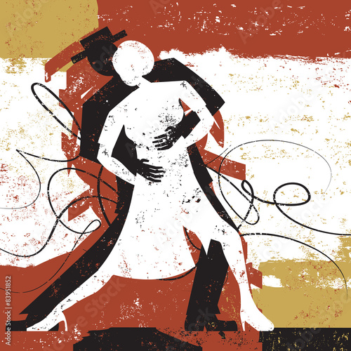 Obraz na Szkle Tango Lovers