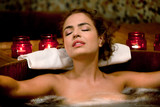 Spa Treatment in the Furo poster