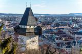 Österreich, Steiermark, Graz, Uhrturm - Fine Art prints