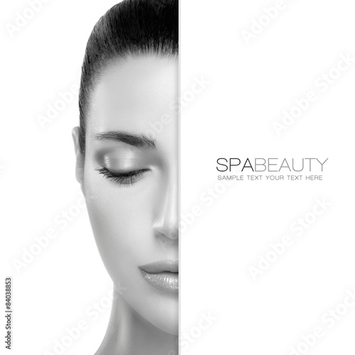 Spa Beauty and Skincare concept. Template Design © Casther