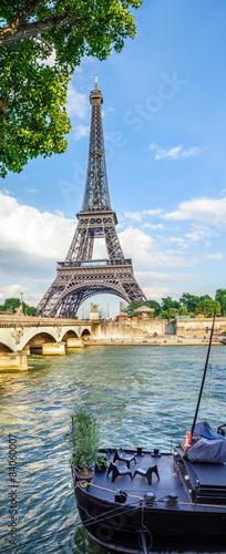 Tour Eiffel et pont d'Iéna - 84060007