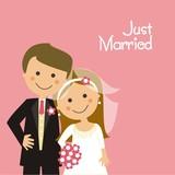 Pareja de recién casados CF3