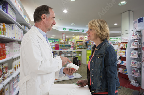 Papiers peints Pharmacie Pharmacien Conseil