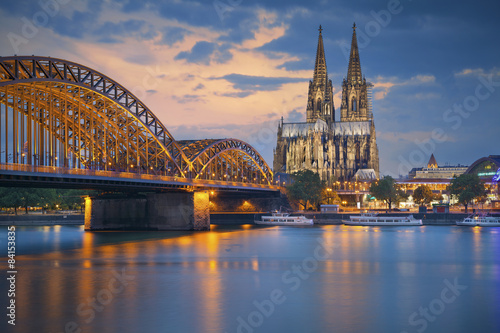 Cologne, Germany. Plakat