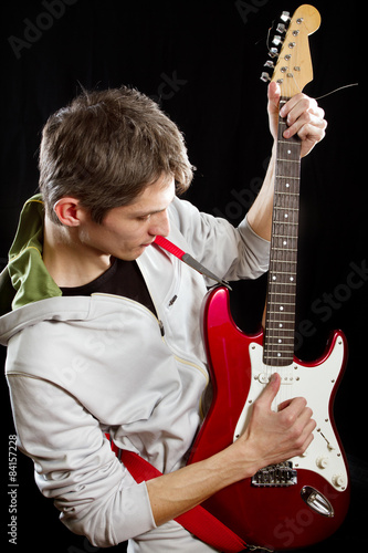 Poster Man With The Guitar