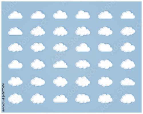 Set of cloud