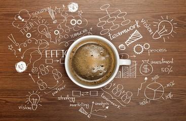 Idea, meeting, business.