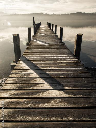 Fototapeta wooden jetty (236)