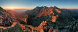 Panorama mountain autumn landscape - Fine Art prints