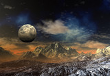 3d rendered fantasy alien planet - 84240208