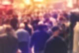 Blur Crowd of Peole Concept - Fine Art prints
