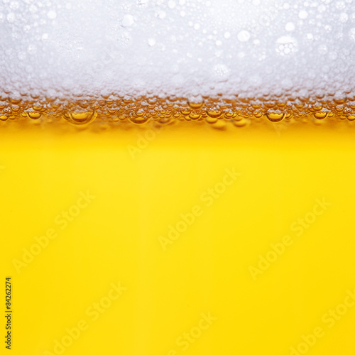Poster Beer bubbles
