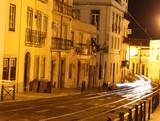 Lisbon Urban Street, and Cars Lights - 84264093