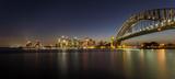 Skyline von Sydney bei Nacht - Fine Art prints